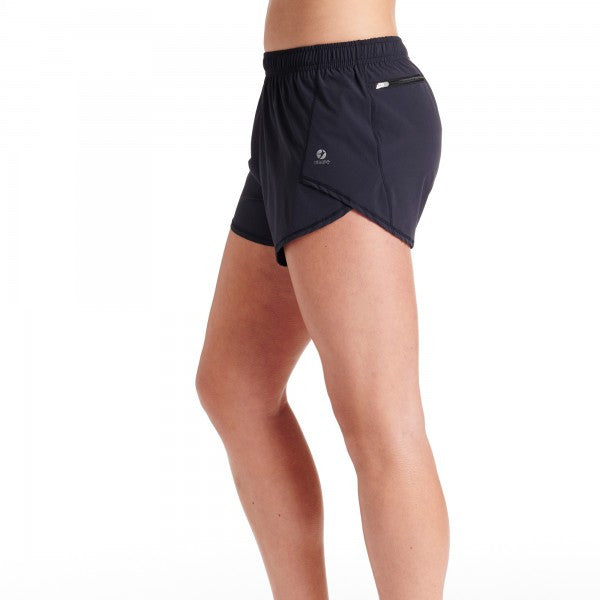 Oiselle Flyout Shorts (Black)