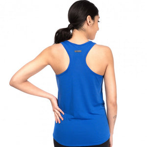 Oiselle Flyout Tank (Big Blue x Hill Runner Logo)