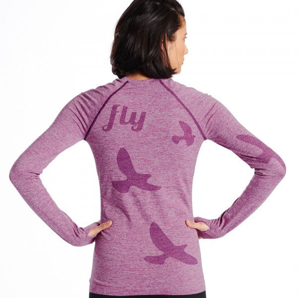 Oiselle Flyte Long Sleeve (Plum)