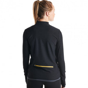 Oiselle Homerun Half Zip (Black)