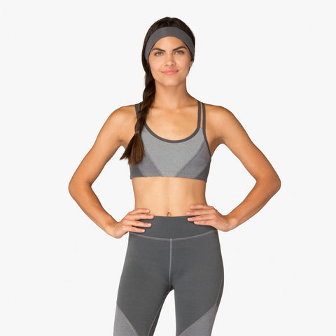 Beyond Yoga Plush Hour Tri-Panel Bra