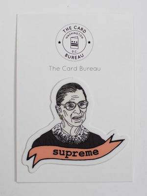 The Card Bureau RBG Sticker