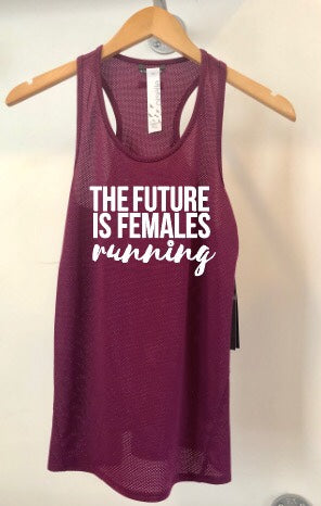 Oiselle Flyout Racerback Tank x TFIF Running (Queen/Empire)