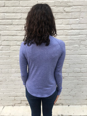 Oiselle Light Lux Long Sleeve (Amethyst/Wisteria)