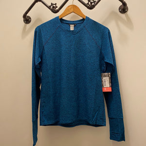 Oiselle Lux Long Sleeve (Pacific/Grounded)