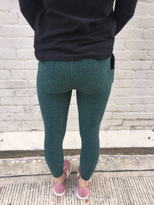 Oiselle Lux Go Anywhere 3/4 Tights (Douglas Fir/Evergreen)