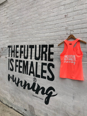 Oiselle Simple Stripe Tank X TFIF Running (Snap)