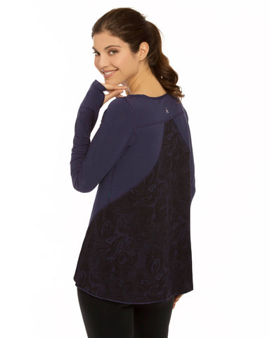 Nancy Rose Inspire Indigo Long Sleeve