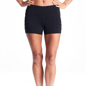 Oiselle New Portman Shorts (Black)