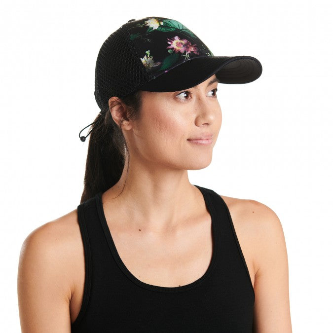Oiselle Moody Floral Runner Trucker Hat - Summit To Soul a2ebe33fc93