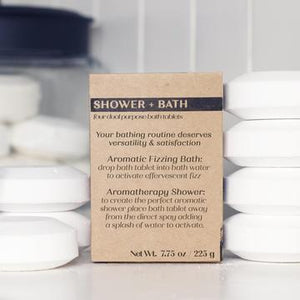 Rock Creek Soaps Shower + Bath Tablets (Set of 4)