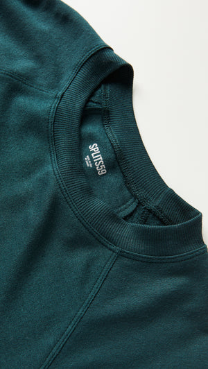 Splits59 Warm Up Fleece Sweatshirt (Forest)