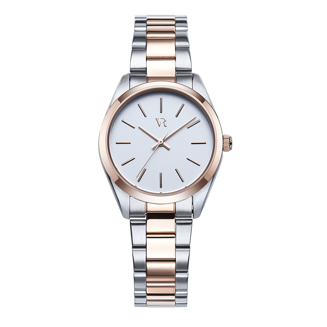 Avalon Silver / Rose Gold - Vodrich