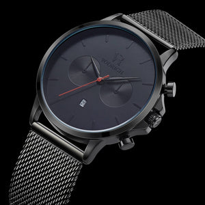 VR Chrono Black/Red - Vodrich