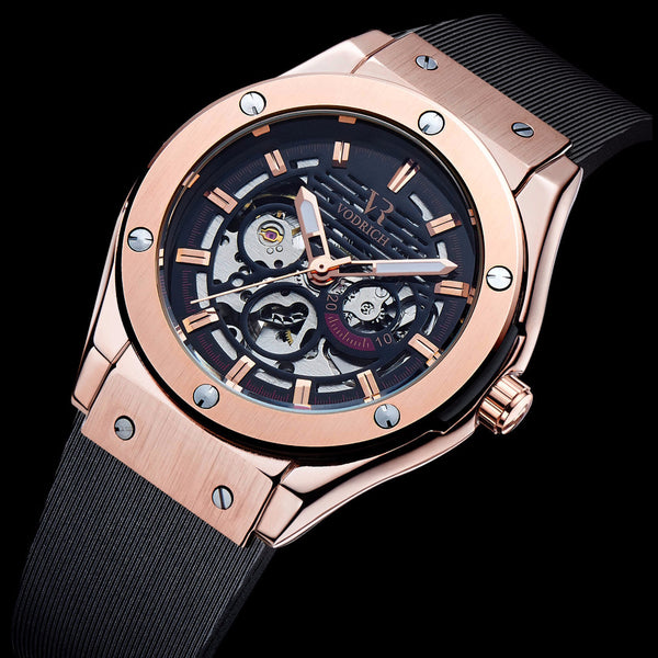 Geared IV Rose Gold