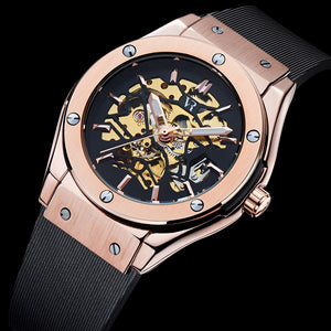Geared V Rose Gold - Vodrich