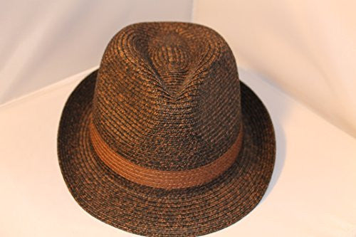 Dorfman Pacific Two-Tone Fedora