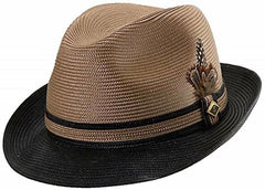 Stacy Adams Men's Two-Tone Fedora