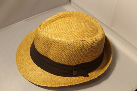 Dorfman Pacific Low Crown Fedora