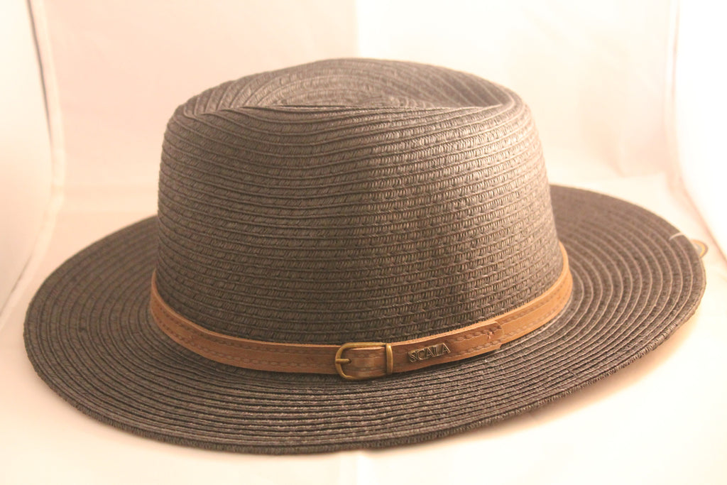 Scala Classico Safari Hat With Leather Band