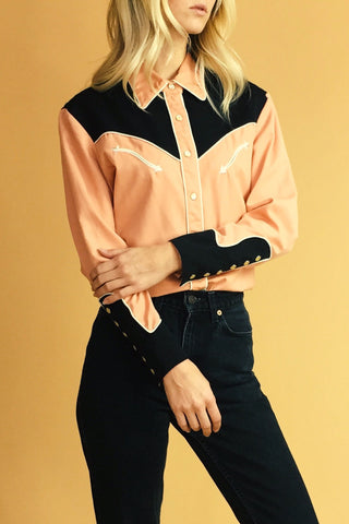 San Antonio Rose 70's Western Shirt