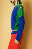 Hit The Rink 1970's Pullover Sweater