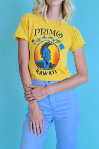 Island Time 1970's Primo Beer Tee