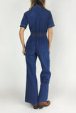 Born To Boogie 1970's Denim Jumpsuit
