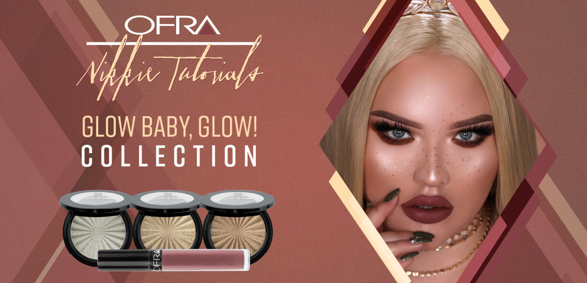 NikkieTutorials x OFRA Collab - Glow, Baby Glow Collection