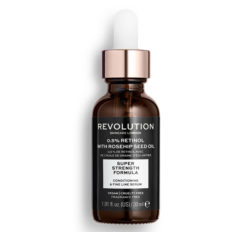 REVOLUTION SKINCARE 0.5% RETINOL SERUM WITH ROSEHIP SEED OIL Glam Raider