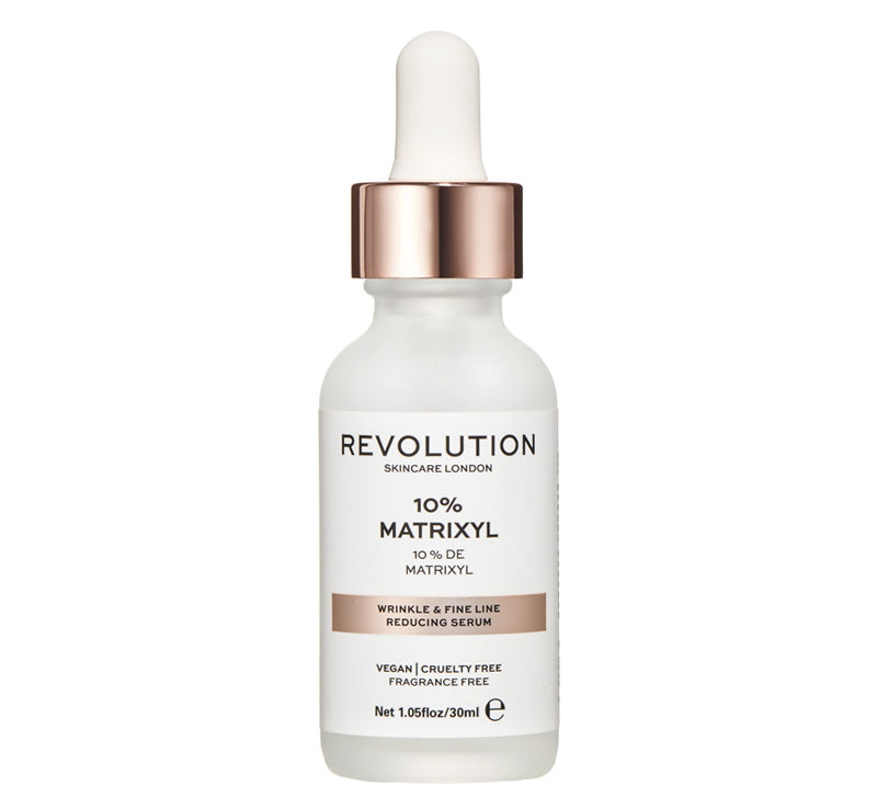 REVOLUTION SKINCARE 10% MATRIXYL WRINKLE & FINE LINE REDUCING SERUM Glam Raider