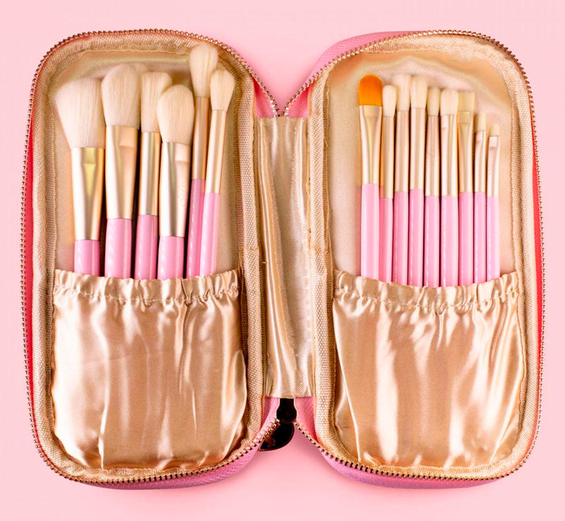 DOLL BEAUTY 15 PIECE SYNTHETIC BRUSH SET Glam Raider