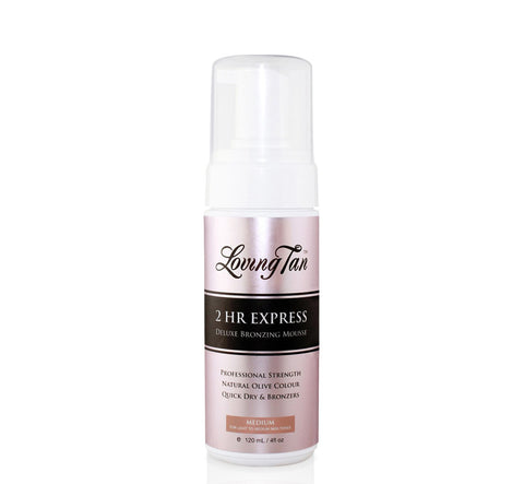 2 Hr EXPRESS MEDIUM SELF TANNING MOUSSE - 120 ml