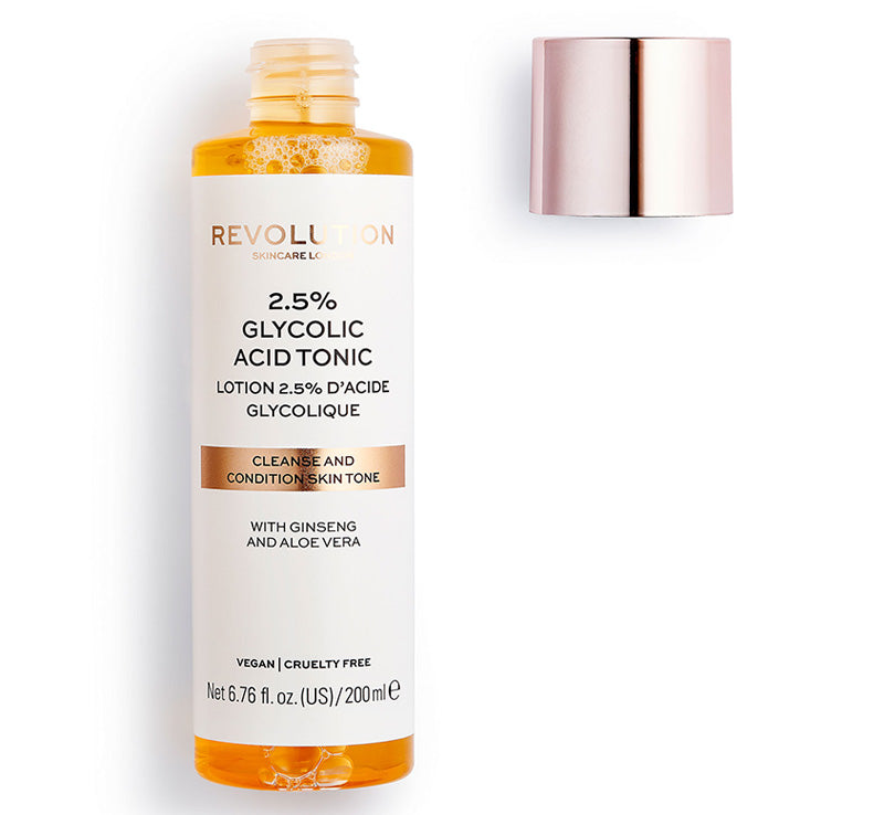 REVOLUTION SKINCARE 2.5% GLYCOLIC ACID TONIC Glam Raider