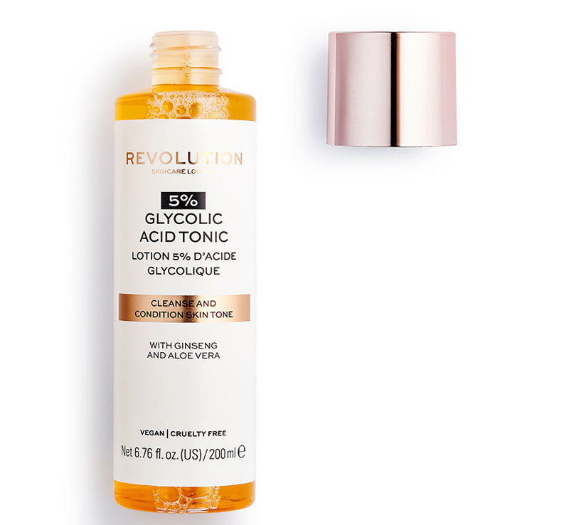 REVOLUTION SKINCARE 5% GLYCOLIC ACID TONIC Glam Raider