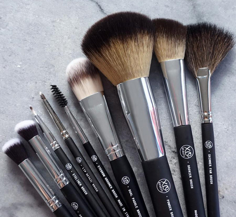 XOBEAUTY 9 PIECE BRUSH SET Glam Raider