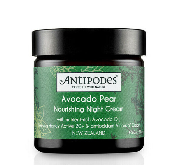 ANTIPODES AVOCADO PEAR NOURISHING NIGHT CREAM Glam Raider