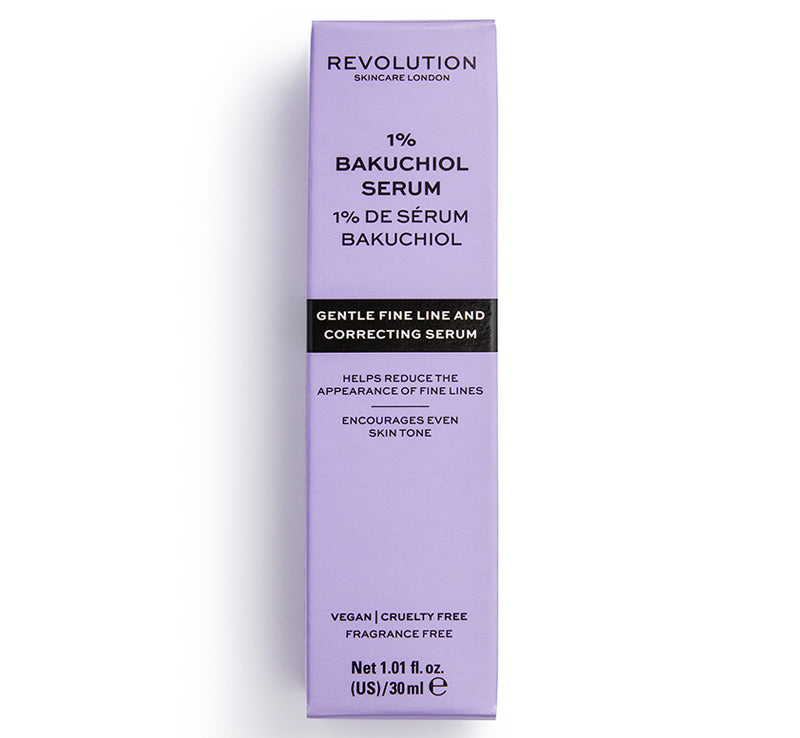 REVOLUTION SKINCARE 1% BAKUCHIOL SERUM Glam Raider