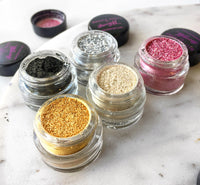 BLACK GOLD FINE GLITTER DUST