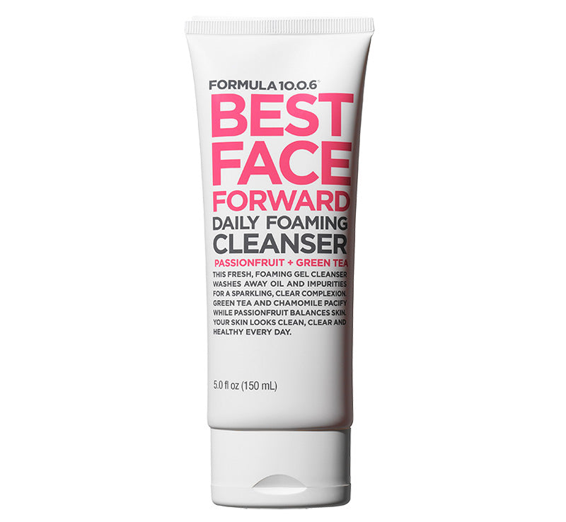 FORMULA 10.0.6 BEST FACE FORWARD DAILY FOAMING CLEANSER Glam Raider