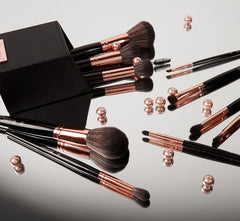 BH SIGNATURE ROSE GOLD 13 PIECE BRUSH SET