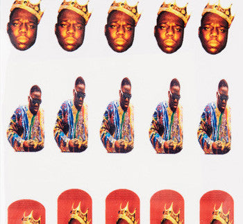 Biggie Notoriouos B.I.G. Nail Decals