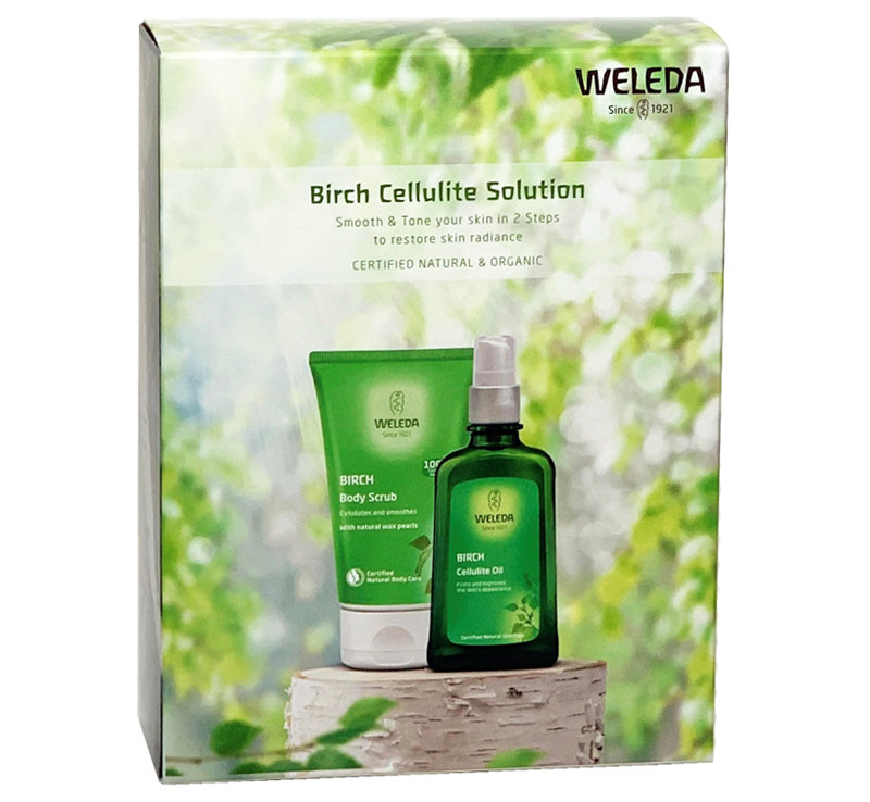 WELEDA BIRCH CELLULITE SOLUTION PACK Glam Raider