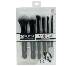 TOTAL FACE BRUSH KIT - BLACK