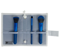 COMPLEXION PERFECTION BRUSH KIT - BLUE