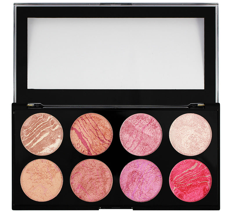 MAKEUP REVOLUTION BLUSH QUEEN - ULTRA BLUSH PALETTE Glam Raider