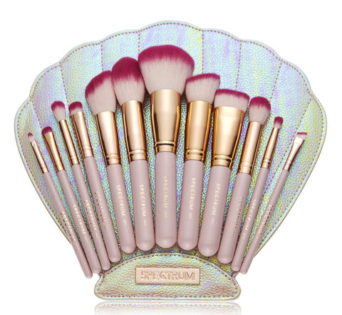 THE BOMB SHELL BRUSH SET & BAG