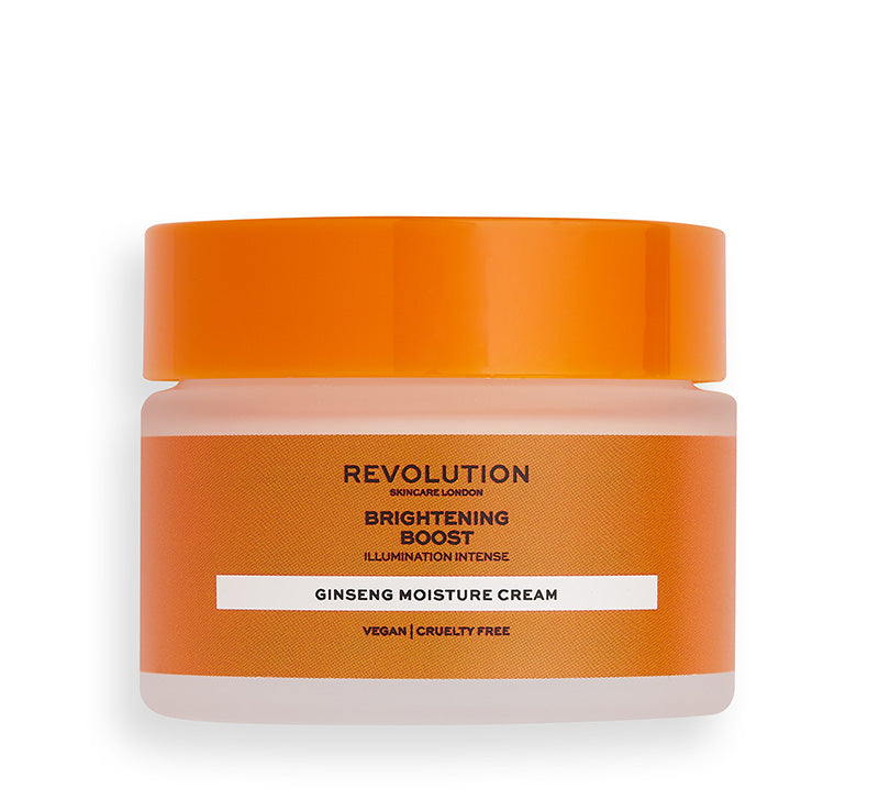 REVOLUTION SKINCARE BRIGHTENING BOOST GINSENG MOISTURE CREAM Glam Raider