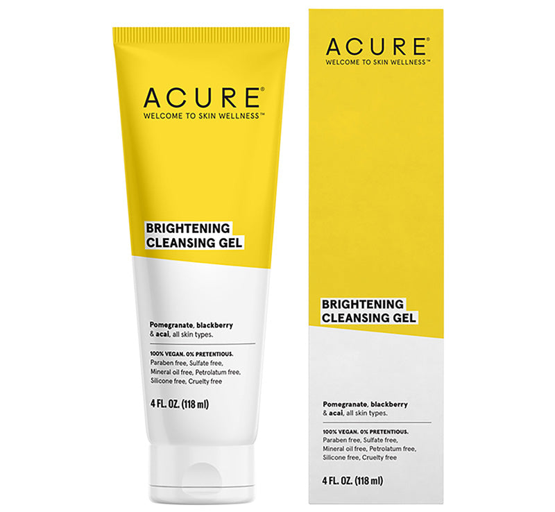 ACURE BRIGHTENING CLEANSING GEL Glam Raider