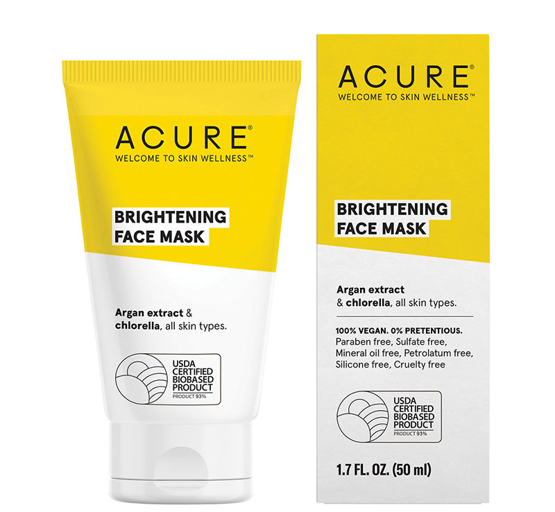 ACURE BRIGHTENING FACE MASK Glam Raider
